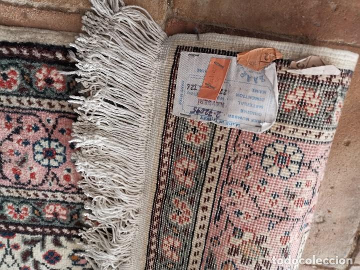 Antigüedades: ALFOMBRA TURCA KAYSERI AÑOS 50 HANDMADE NUDO TURCO LANA Y ALGODON--IMPECABLE 250 X 150-----REF-1AC - Foto 24 - 183924135