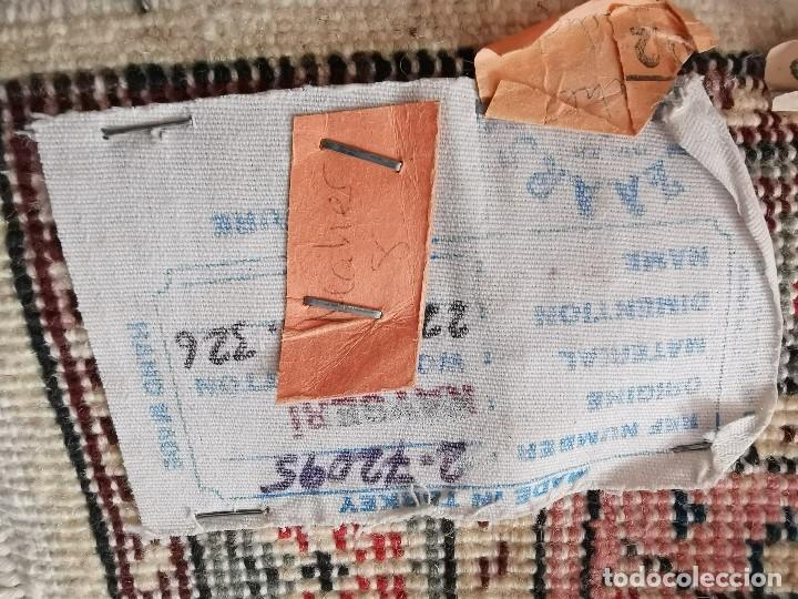 Antigüedades: ALFOMBRA TURCA KAYSERI AÑOS 50 HANDMADE NUDO TURCO LANA Y ALGODON--IMPECABLE 250 X 150-----REF-1AC - Foto 25 - 183924135
