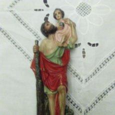 Antiguidades: FIGURA O IMAGEN DE SAN CRISTOBAL . Lote 183942321