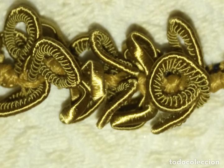 Antigüedades: N3 Pareja CAIRELES borlas siglo xix perfecto estado para cingulo niño jesus o virgen epoca afonsina - Foto 15 - 208182508