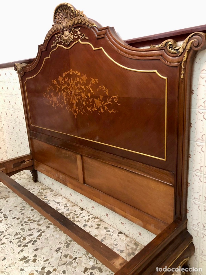 Antigüedades: Cama Luis XV - Foto 21 - 207696306