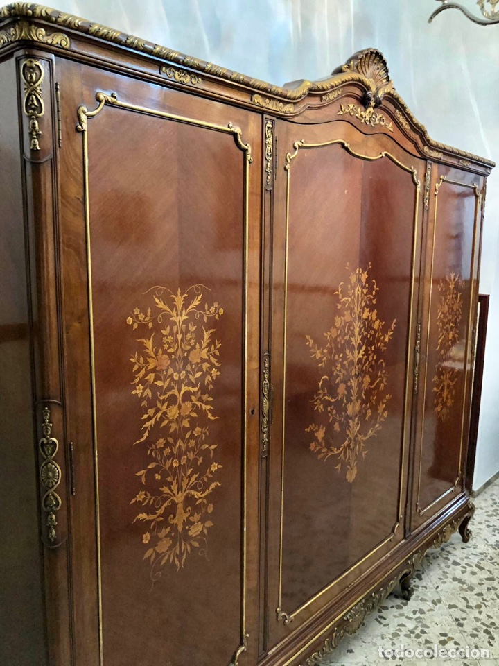 Antigüedades: Armario o ropero Luis XV - Foto 2 - 183957395
