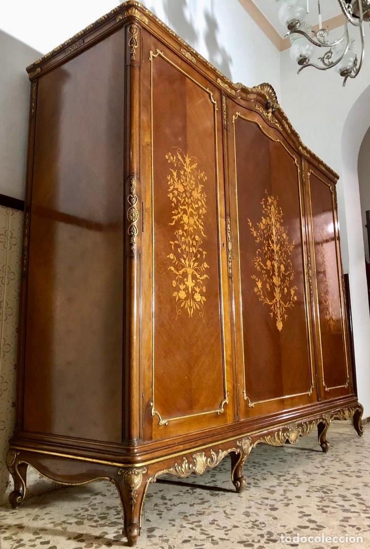 Antigüedades: Armario o ropero Luis XV - Foto 22 - 183957395