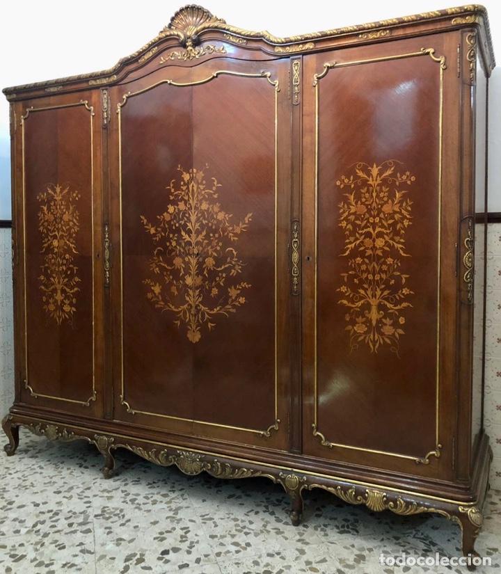 Antigüedades: Armario o ropero Luis XV - Foto 23 - 183957395