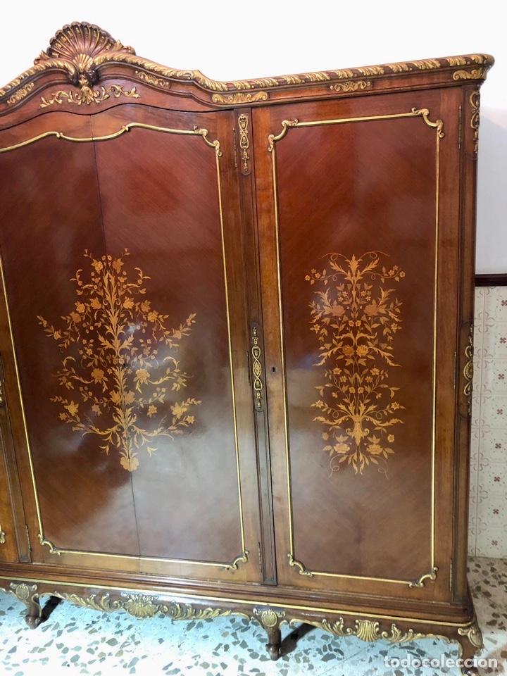 Antigüedades: Armario o ropero Luis XV - Foto 27 - 183957395