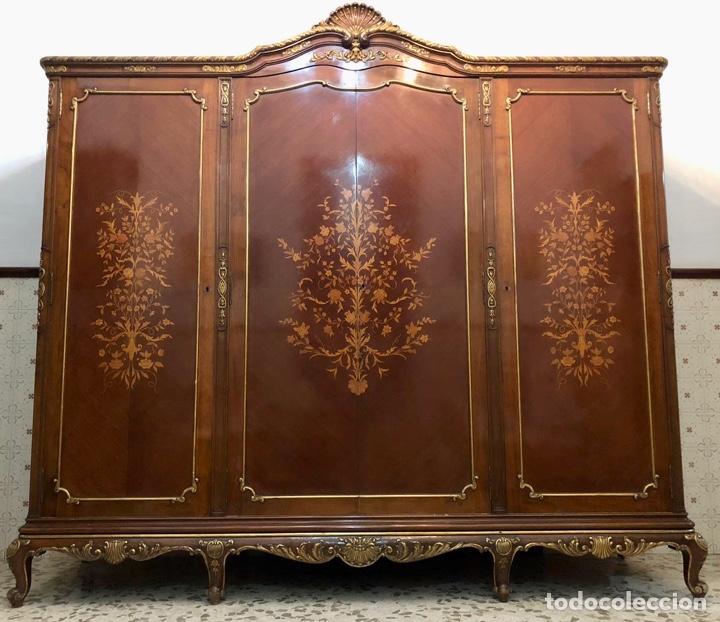 Antigüedades: Armario o ropero Luis XV - Foto 29 - 183957395