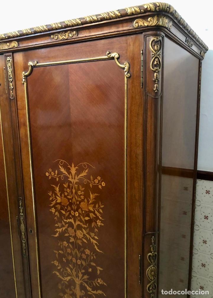 Antigüedades: Armario o ropero Luis XV - Foto 34 - 183957395