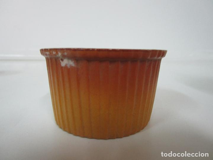 Antigüedades: Azucarera y 2 Tazas, Art Decó - Sello Walküre, Bavaria - Porcelana Alemana - Años 20-30 - Foto 12 - 183973185