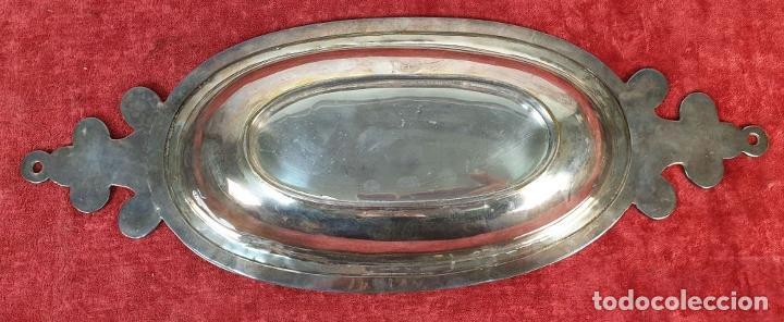 Antigüedades: CENTRO DE MESA. METAL PLATEADO. VALENTÍ. SIGLO XX. - Foto 6 - 183973316