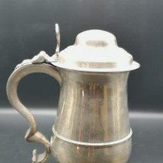 Antigüedades: SERVICIO DE CAFÉ EN PLATA. Lote 183989231