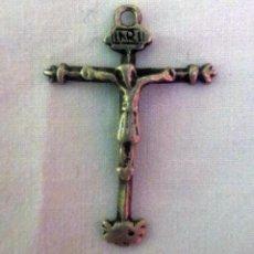 Antigüedades: ORIGINAL CRUCIFIJO DEL SANTO CRISTO DE BURGOS. Lote 183908967