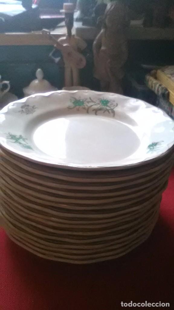 PLATOS SAN CLÁUDIO OVIEDO (Antigüedades - Porcelanas y Cerámicas - San Claudio)