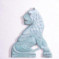 Antigüedades: TALLA DECORATIVA ANIMAL MITOLÓGICO. Lote 184002476