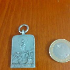 Antigüedades: MEDALLA DE NIQUEL PEREGRINACION AL PILAR. Lote 184009415