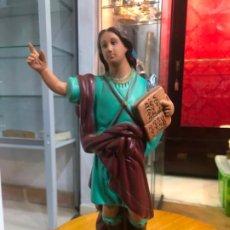 Antigüedades: IMAGEN RELIGIOSA DE SAN PANCRACIO - MEDIDA 31 CM. Lote 184010150