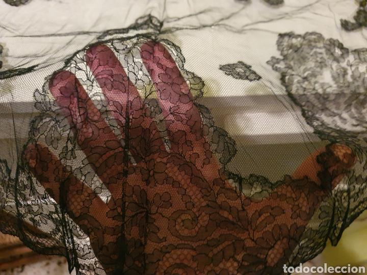 Antigüedades: ANTIGUA MANTILLA DE TRES PICOS - Foto 3 - 184051847