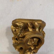 Antigüedades: MENSULA DORADA EN ESCAYOLA . Lote 184070670