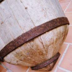 Antigüedades: CUBO MADERA. Lote 184084515