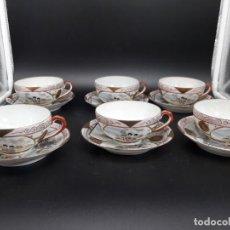 Antigüedades: JUEGO CAFÉ 6 PIEZAS . Lote 184088611