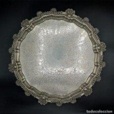 Antigüedades: BANDEJA EN PLATA. Lote 184089175