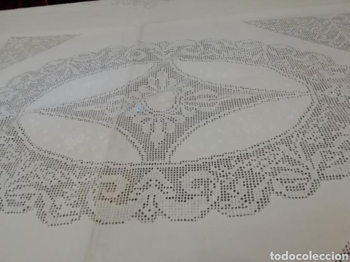 Antigüedades: Mantelería de Lagartera - Foto 5 - 184099835