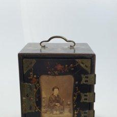 Antigüedades: CAJA MADERA CHINO CHINA SIGLO XIX. Lote 184110360