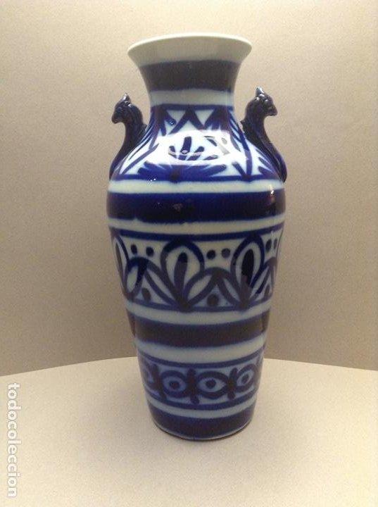 JARRÓN MANISES PPIOS. S.XX (Antigüedades - Porcelanas y Cerámicas - Manises)