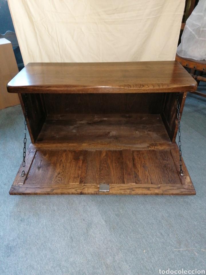 Antigüedades: Arcón o baúl de roble macizo - Foto 2 - 184115370