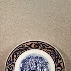 Antigüedades: PLATO SARGADELOS. DEGOLACIÓN DOS INOCENTES.HOMENAXE AS PINTURAS MURAIS DE MONDOÑEDO. Lote 184129265