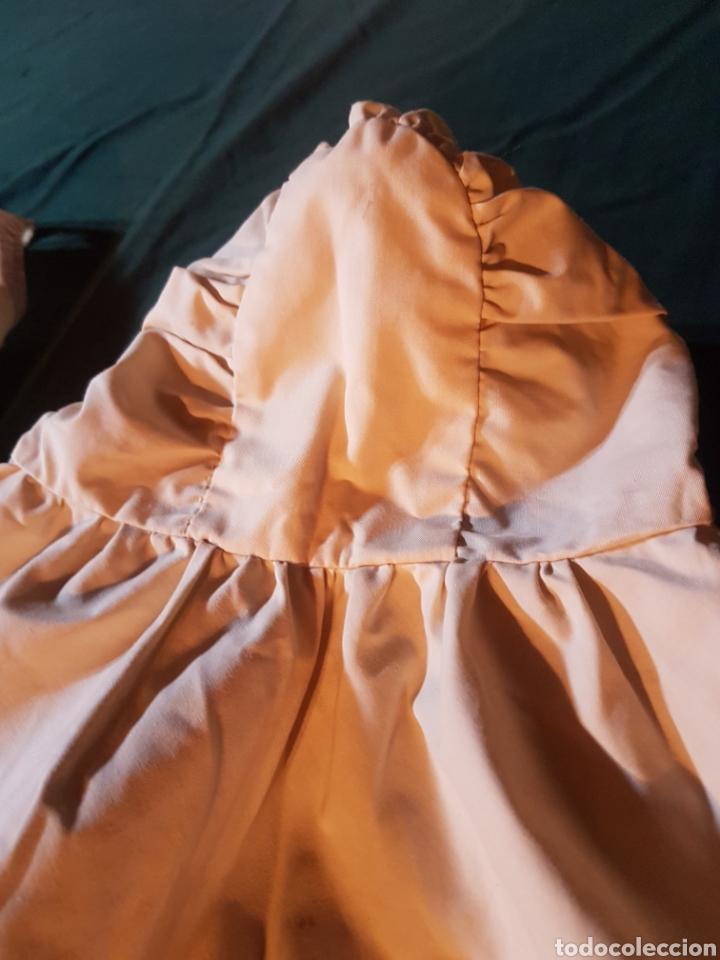 Antigüedades: Traje de bebe o traje de bautismo o acristianar color salmón - Foto 6 - 184183046