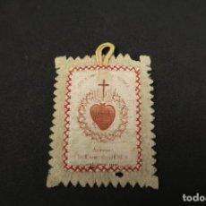 Antigüedades: ANTIGUO ESCAPULARIO RELIGIOSO. Lote 184194086