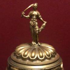 Antigüedades: SOBERBIO INCENSARIO O ESCRIBANIA, DE ÉPOCA NAPOLEON III. Lote 184200027