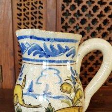 Antigüedades: JARRA DE CERÁMICA DE TRIANA. Lote 184213072