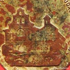 Antigüedades: RARA MEDALLA VIRGEN DE LA CABEZA Y SANTUARIO ANDUJAR SIGLO XIX. Lote 184220180