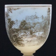 Antiquités: OPALINA ESTAMPADA DE RICHARDSON CA. 1847-1855. Lote 184221053