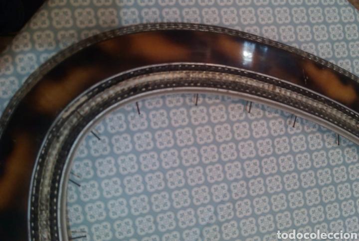 Antigüedades: Espectacular marco ovalado S. XIX - Foto 4 - 184222311