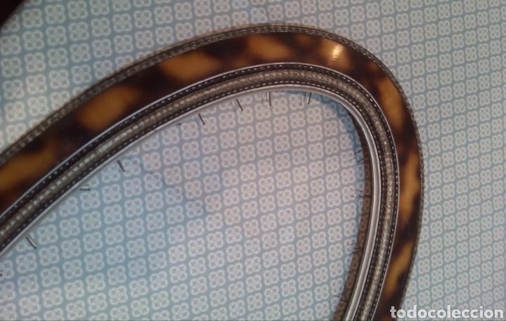 Antigüedades: Espectacular marco ovalado S. XIX - Foto 5 - 184222311