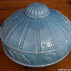 Antigüedades: MAGNIFICA ANTIGUA TULIPA LAMPARA MODERNISTA ZXY. Lote 184224661