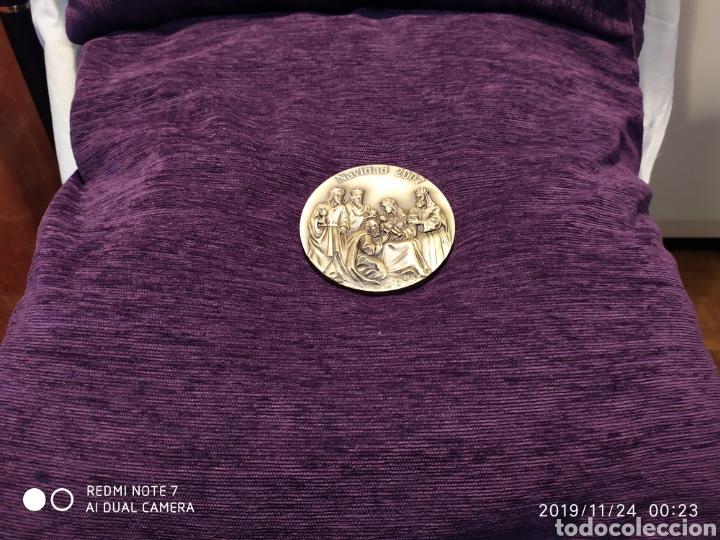 Antigüedades: IRREPETIBLE Y ÚNICA METOPA NATAL EN RELIEVE, BRONCE PULIDO, 2007, VER - Foto 3 - 184228802