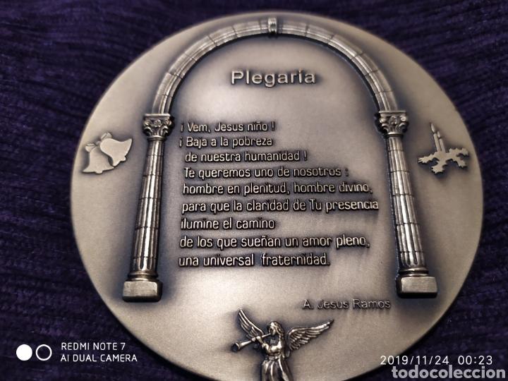 Antigüedades: IRREPETIBLE Y ÚNICA METOPA NATAL EN RELIEVE, BRONCE PULIDO, 2007, VER - Foto 4 - 184228802