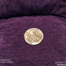 Antigüedades: PRECIOSA Y ÚNICA METOPA NATAL EN BRONCE PULIDO, 2011, VER. Lote 184230716