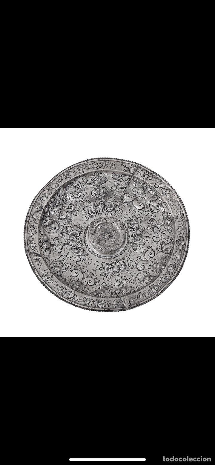 Antigüedades: Bandeja de plata española siglo XVII Cordoba por - Foto 9 - 165463462