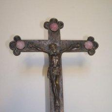 Antigüedades: CRUCIFIJO DE MESA CON CRISTO.. Lote 184246761