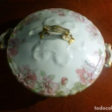 Antigüedades: LEGUNBRERA DE PORCELANA. HAVILAND & CO. LIMOGES. Lote 184271733