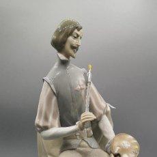 Antigüedades: EL PINTOR - PORCELANA. Lote 184274330
