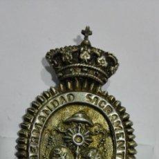 Antigüedades: MEDALLA HERMANDAD SACRAMENTAL LOS GITANOS - SEVILLA. Lote 184301713