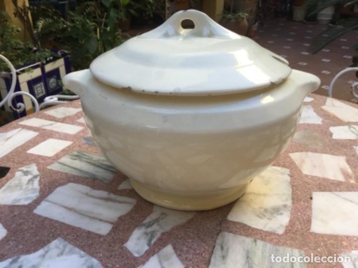 Antigüedades: Antiquísima sopera Alcora , Manises ? - Foto 2 - 184326135