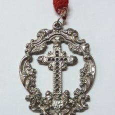Antigüedades: MEDALLA A IDENTIFICAR POSIBLEMENTE ALGUNA VERA CRUZ. Lote 184351303