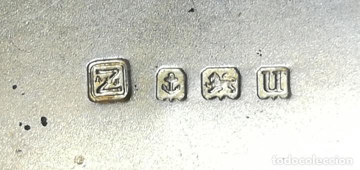 Antigüedades: LOTE PITILLERAS PLATA VERMEILLÉ - Foto 6 - 184360215