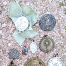 Antigüedades: LOTE DE MEDALLAS ANTIGUAS - VER VARAS FOTOS AF9. Lote 184361002